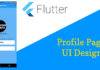 Flutter Profile Page UI Design Using Flutter Card & ListTile Widget