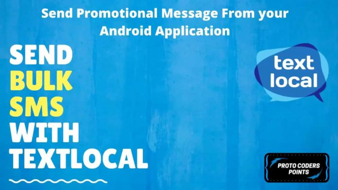 SMS GATEWAY Text local
