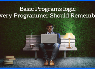 Basic Programs logic Every Programmer Should Remember-min