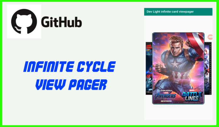 infinite cycle view pager android github library