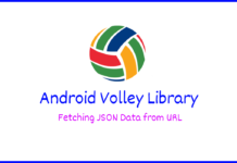Android Tutorial on Volley library – How to Fetching JSON Data from URL