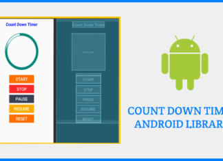 count down timer android Library