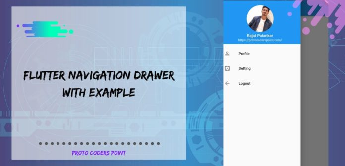 Flutter Navigation Drawer With Example