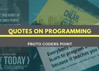 Quotes on Programming