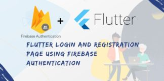 firebase integration in flutter Application