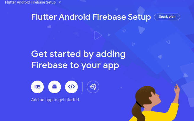 get Started adding android firebase