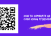 How to generate QR Code using PYQRCODE