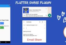 flutter share plugin with example