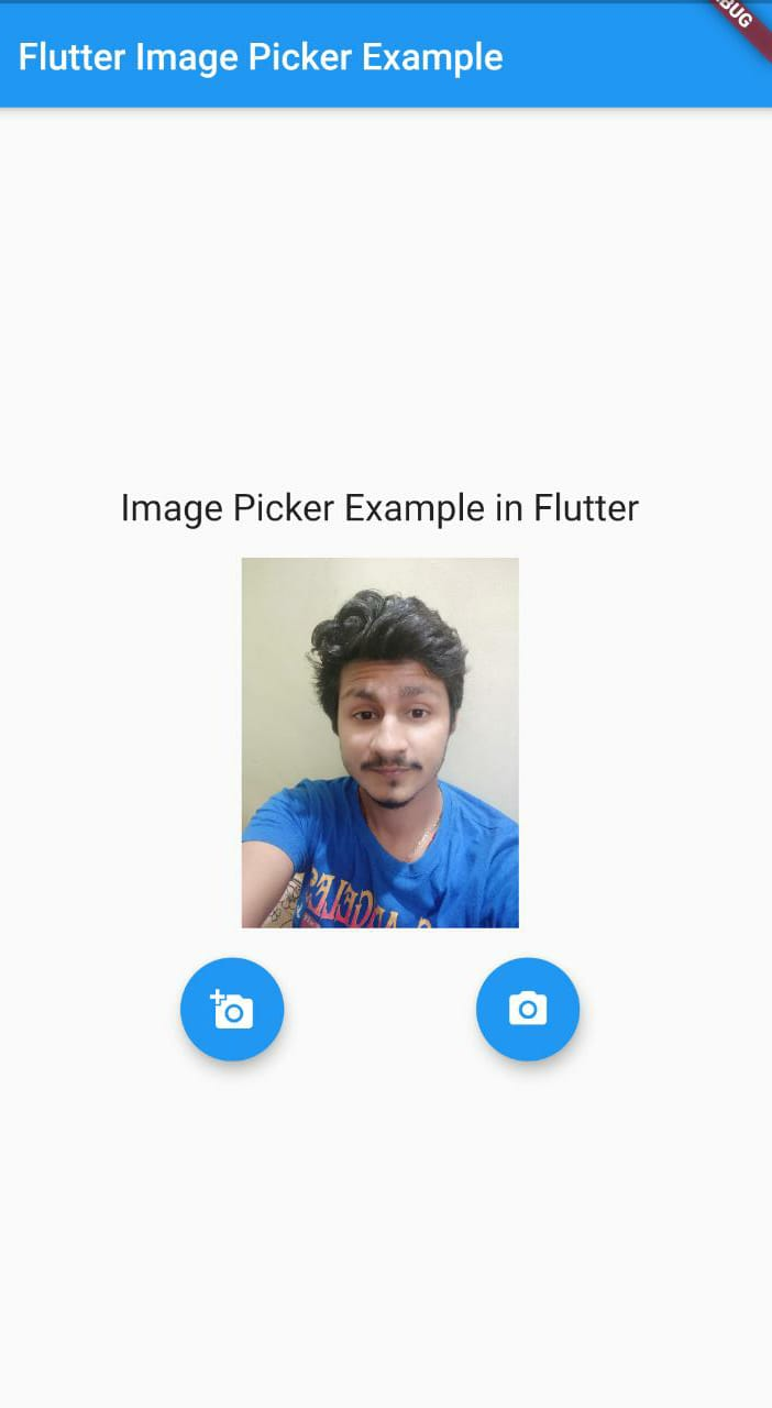 Picked image from gallery in flutter app