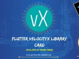 Flutter VelocityX Library–How to use VelocityX Card on any Flutter Widgets