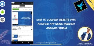 How to Convert Website into Android App in android studio using WebView Android Studio