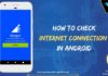 How to check internet connection in android