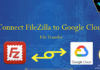 Connect FileZilla to Google Cloud