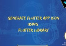 flutter launcher icon generate app icon