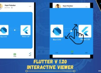 Flutter Interactive Viewer example
