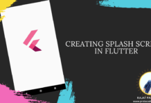 Creating Splash Screen in Flutter