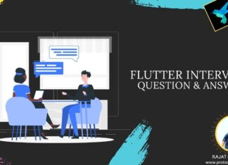 Flutter interview question and answer 2020