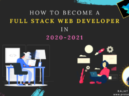 How to become a full stack web developer in 2020-2021