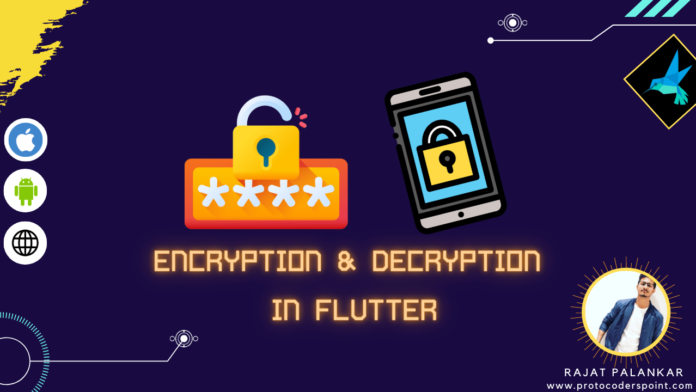 how to encrypt password in flutter