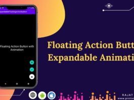 android floating action button animation menu example