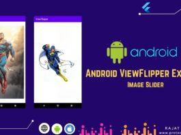 viewflipper android