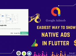 native ad flutter exxample
