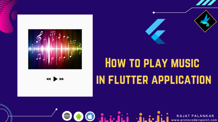 audio player in flutter
