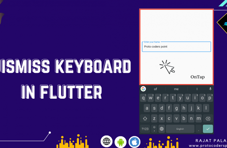 how to dismiss keyboard in flutter